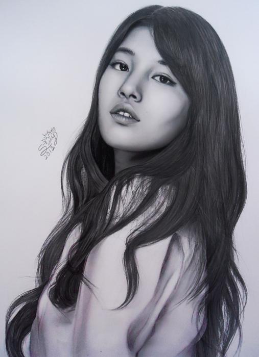 Bae Suzy par Sury
